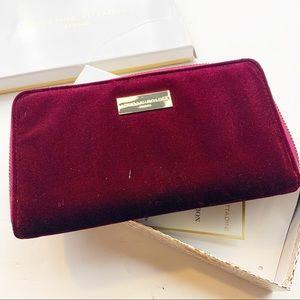 Adrienne Vittadini l Red Velvet Wallet